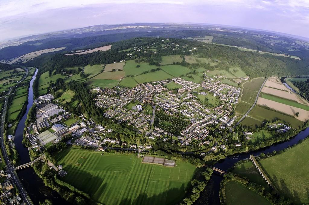 Wyesham and the Wye Valley